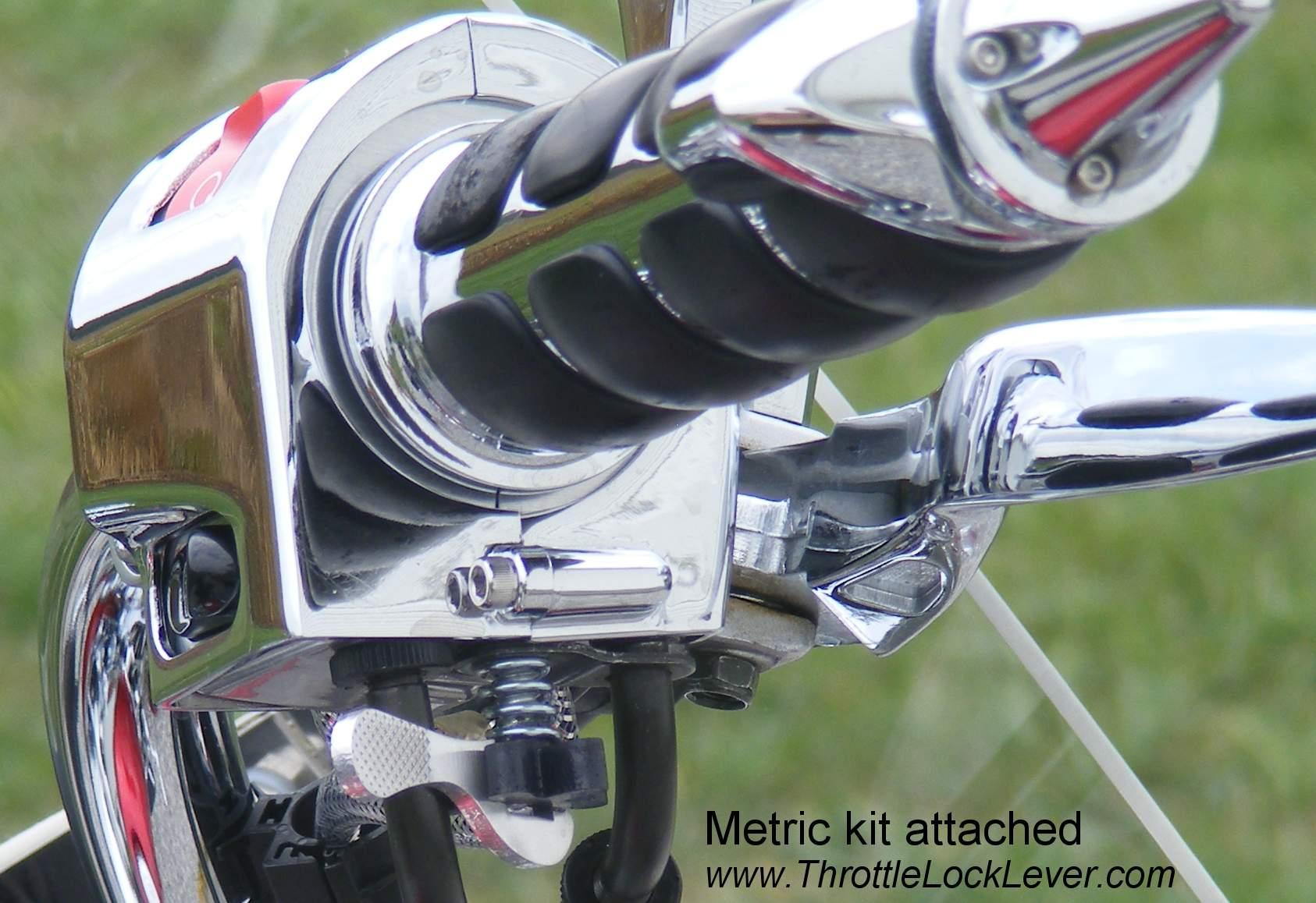 Throttle Lock Lever Kits For Metrics